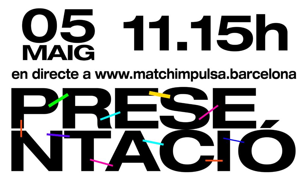 Presentació MatchImpulsa